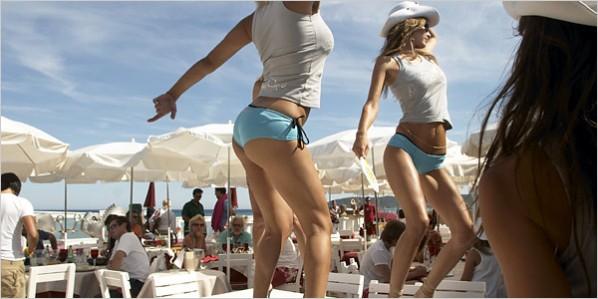 De sexy stranden van St. Tropez!