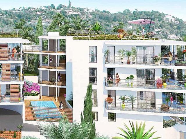 Cannes luxe nieuwe appartementen te koop, met zeezicht