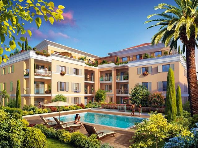 Nieuwbouw appartementen Cannes Palm Beach