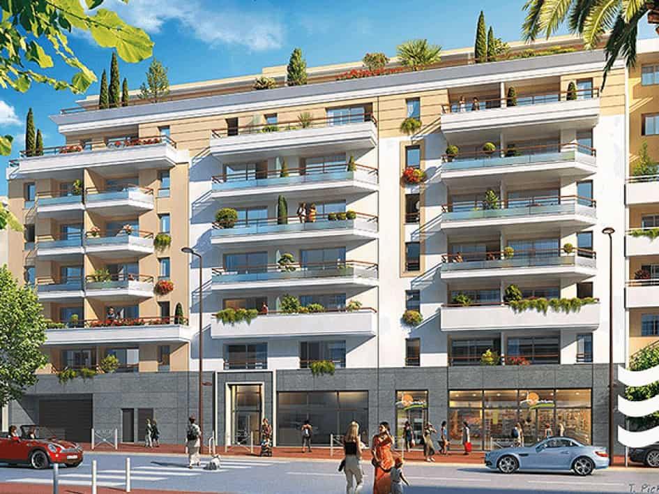 Nieuwbouw appartement op 100 meter van strand Juan les Pins