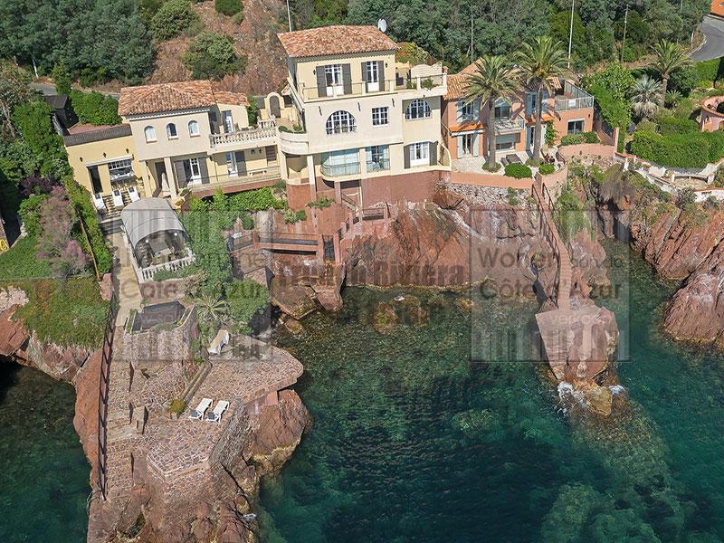 Théoule sur Mer waterfront villa Belle Epoque style