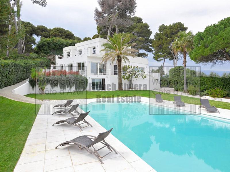 Cap d'Antibes renovated contemporary villa