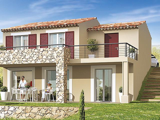 Nieuwbouw villa in Sainte Maxime, met garage en tuin