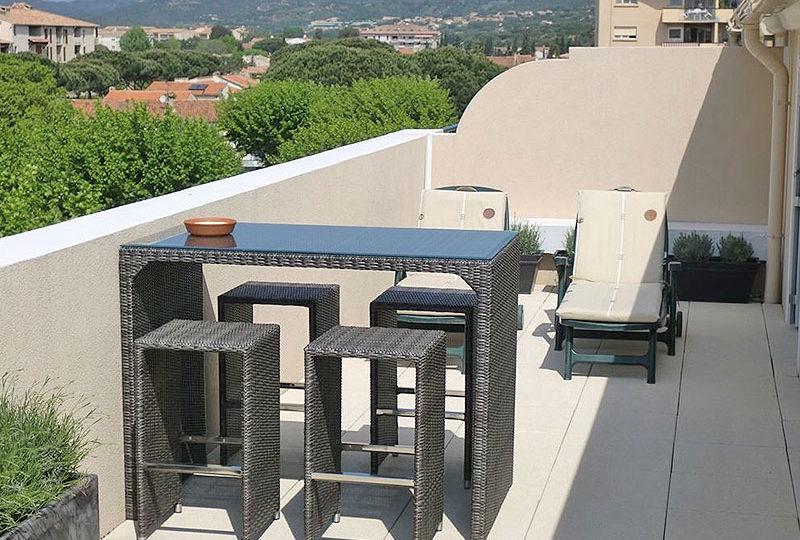 Ruim en luxe penthouse in centrum Sainte Maxime - Saint Tropez huis te koop