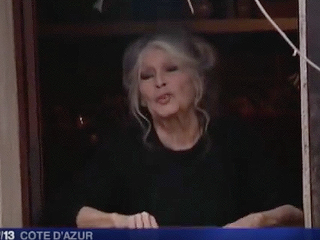 Exclusive footage: Brigitte Bardot opens her doors in Saint