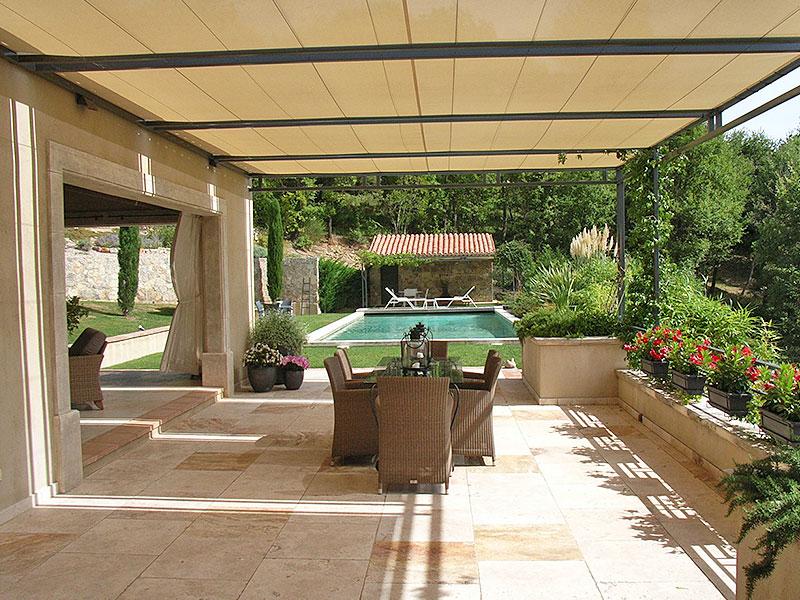 Seillans luxe villa te koop met verwarmd zwembad