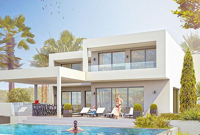 Unieke villa te koop, contemporary style Roquebrune sur Argens