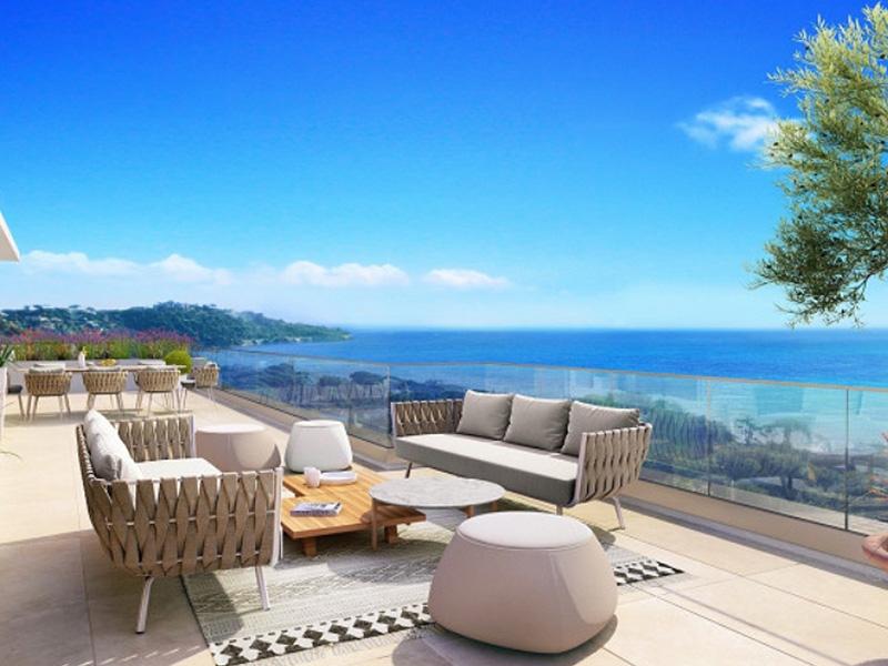 Sainte Maxime nieuwbouw appartement met zwembad op 2 min van zee