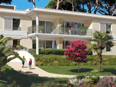 Nieuwe appartementen in intiem resort aan zee Golfe Juan