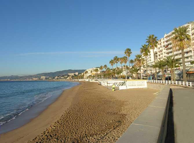 Cannes-Plage-du-Midi-Nieuwbouw Cannes la Bocca biedt dubbele appartementen te koop