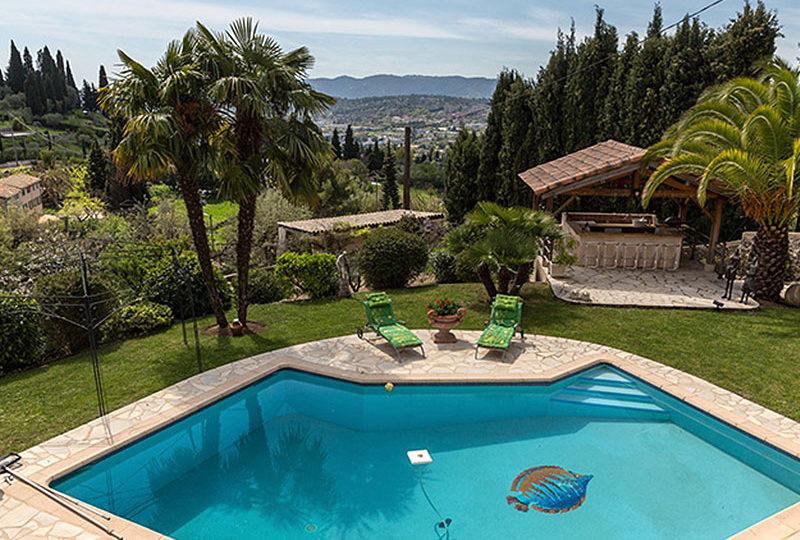 Provencaalse villa te koop, 15 minuten van Cannes