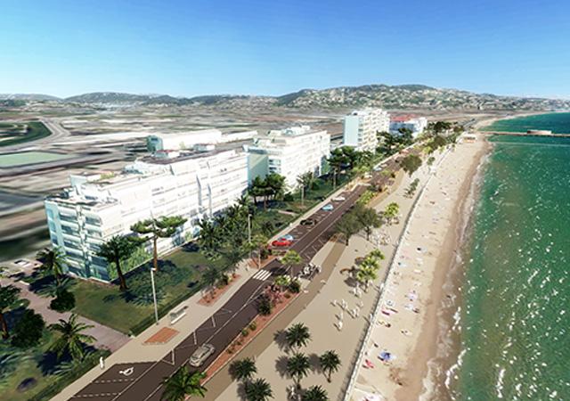 De nieuwe stranden van Cannes Boccacabana!