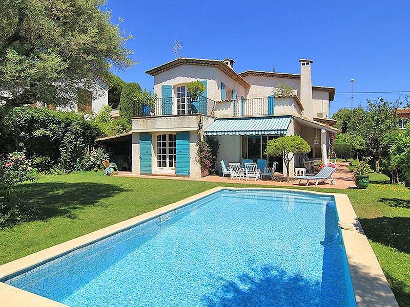 Vakantie villa te koop Juan les Pins op loopafstand van strand en centrum