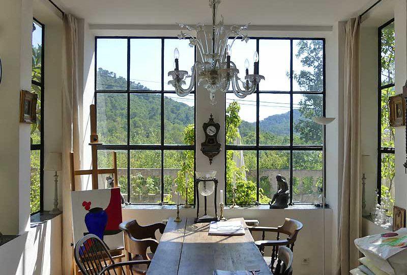 Rustig gelegen Provencaals huis Bergamon met vrij uitzicht