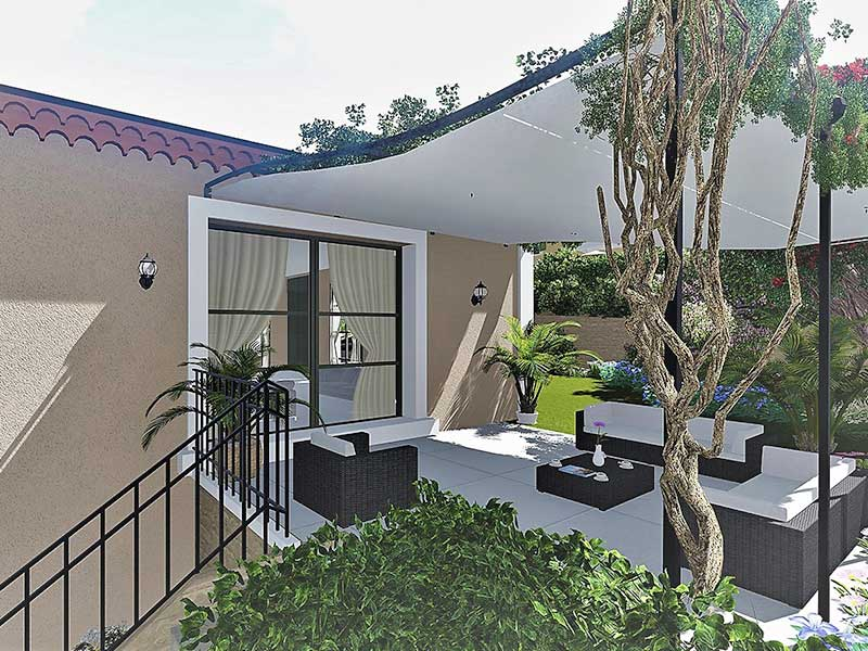 Mougins nieuwbouw villa in exclusief Tauzia design