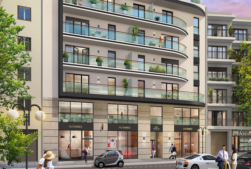 Nieuw appartement kopen in centrum Antibes Côte Azur