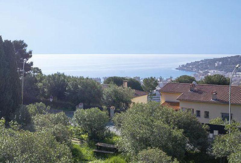 Nieuw appartement Roquebrune Cap Martin met zeezicht en zwembad