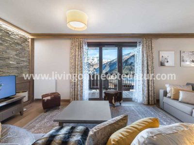 Luxe appartementen te koop in centrum Courchevel