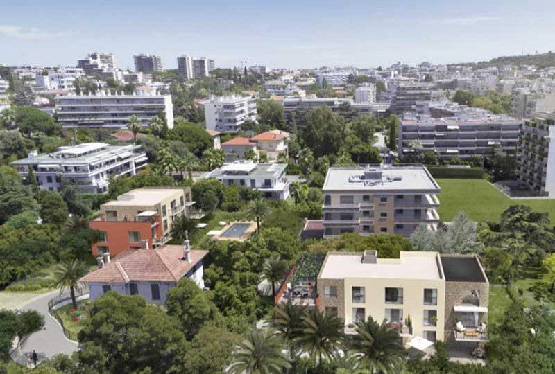 Luxe nieuwbouw Juan les Pins in oase van rust