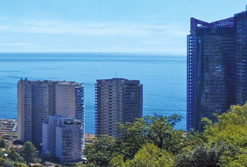Luxe appartementen Beausoleil, boven Monaco