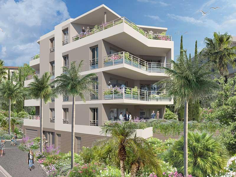 Nieuwe appartementen in het hart van Le Cannet, dicht bij Cannes