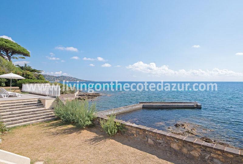 Sainte Maxime villa met boothuis te koop