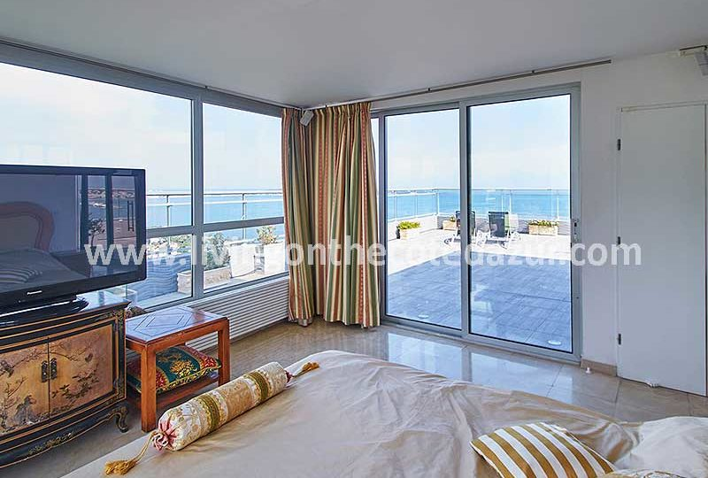 Het mooiste Cannes Californie penthouse is te koop in Saint Michel Valetta