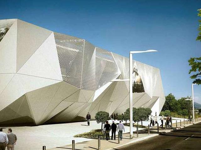De toekomstige multiplex bioscoop van Cannes La Bocca biedt 2.450 zitplaatsen in twaalf bioscoopzalen.