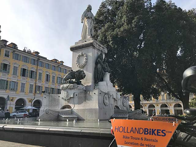 Met Holland Bikes op de fiets door Nice, leuk en leerzaam!