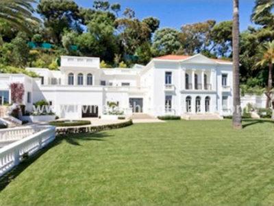 Belle epoque paleis in heuvels van Cannes