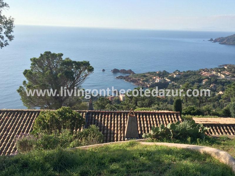 Familie villa Agay met ruisende zee geluiden