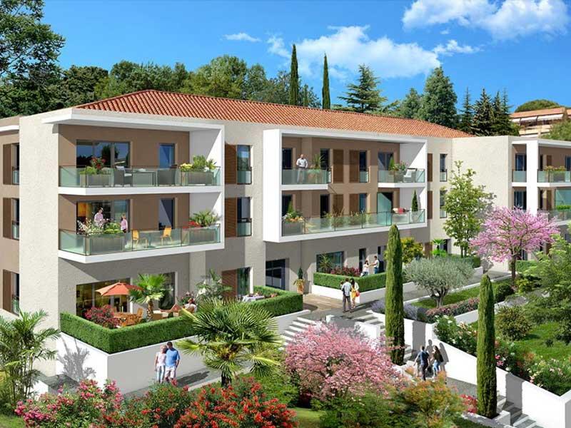 Nieuw appartement bij het kasteel van Cagnes sur Mer