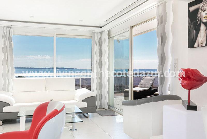 Geweldig penthouse in het hart van Palm Beach in Cannes.