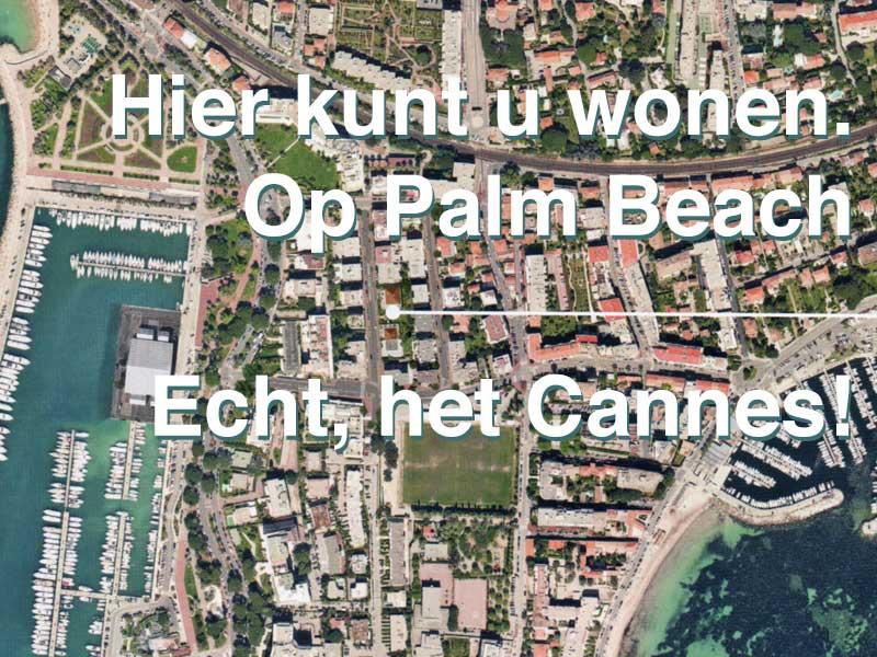 Nieuwbouw op topniveau Cannes Palm Beach