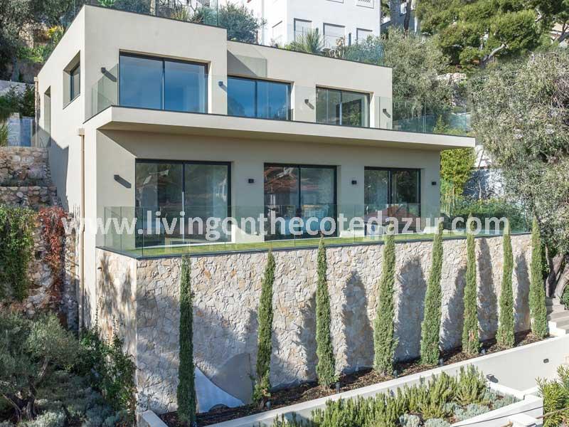 Gerenoveerde contemporary Villefranche villa te koop - Côte d'Azur