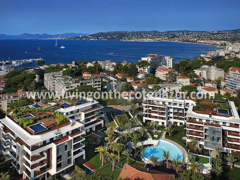 Vakantie op Cap d'Antibes; investeer in nieuw 5 sterren appartement