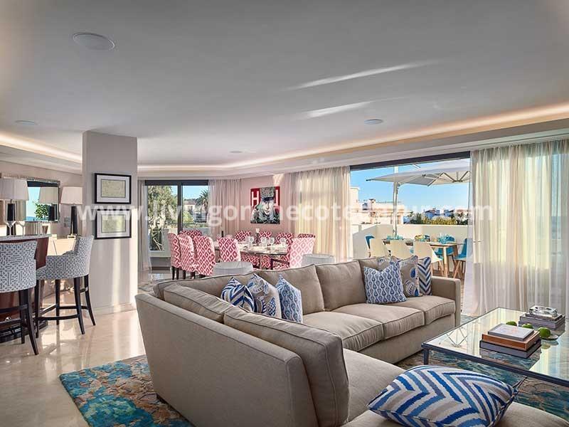 Nieuw penthouse met dakterras Cap d'Antibes