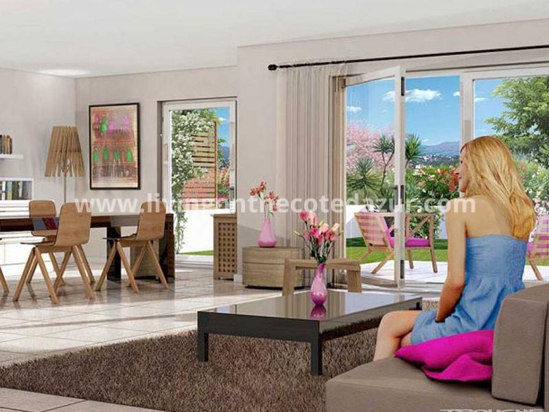 Een nieuw appartement kopen in centrum La Colle sur Loup