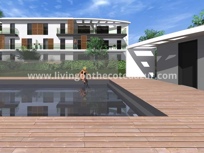 De ideale vakantieplek: nieuw appartement kopen in Golfe Juan