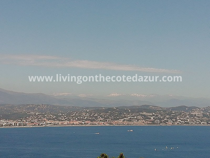 Bouwterrein en bouwvergunning op mooiste plek Theoule sur Mer