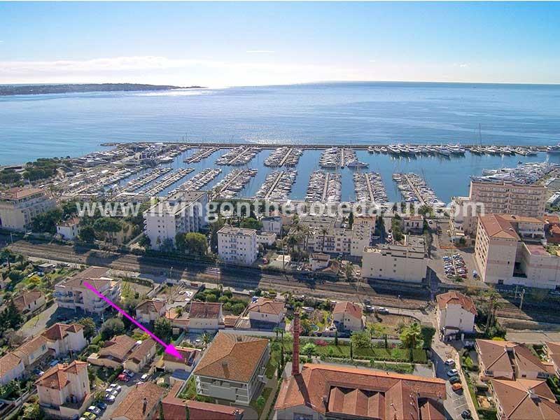 Nieuwbouw appartement in Golfe Juan dichtbij haven en strand
