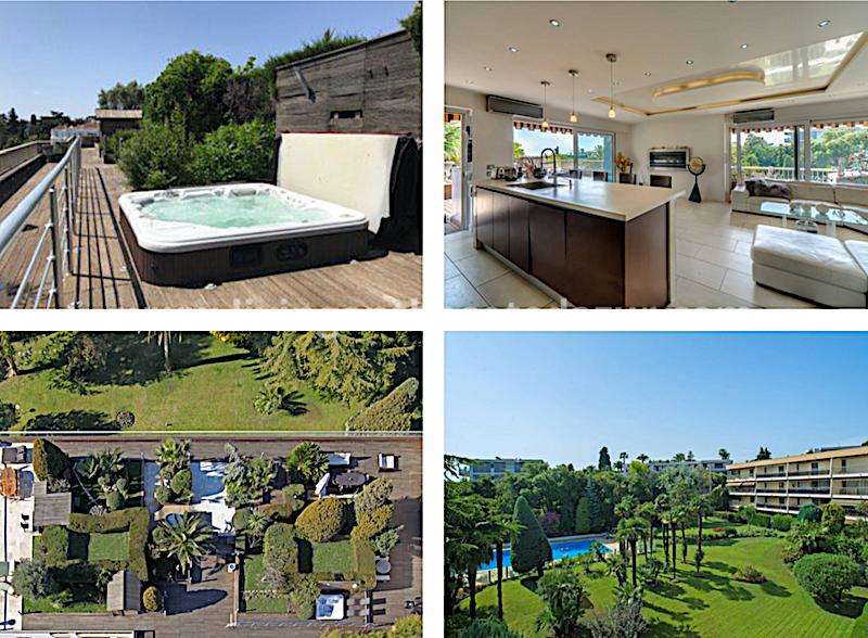 Penthouse kopen met een dakterras van 800 m²? Ja, het Cannes.