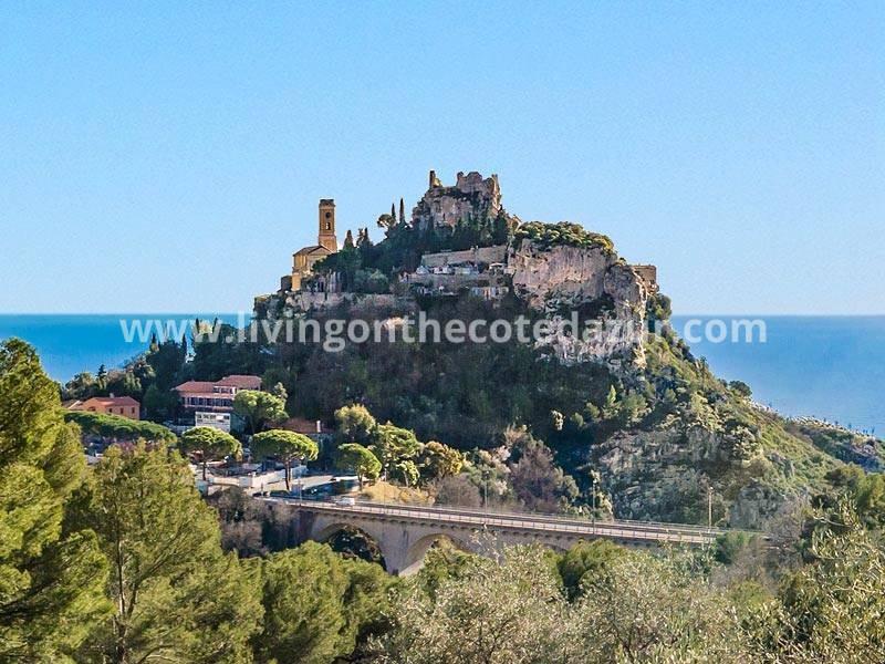 Luxe wonen in Eze Côte d'Azur met super uitzicht