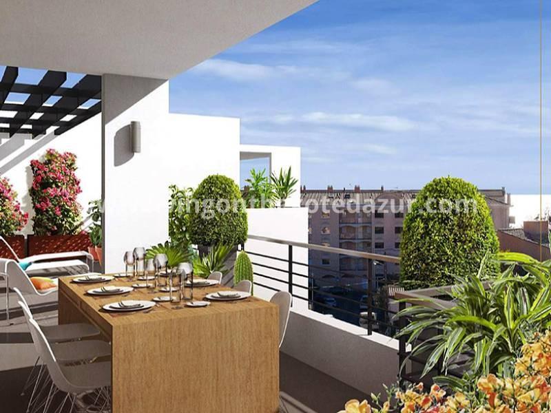 Nieuwbouw appartementen Fréjus, op 5 minuten lopen van het strand