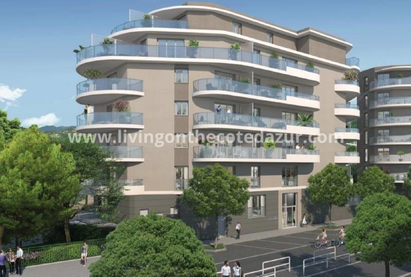 Nieuwe appartementen Nice Saint Roch met open uitzicht