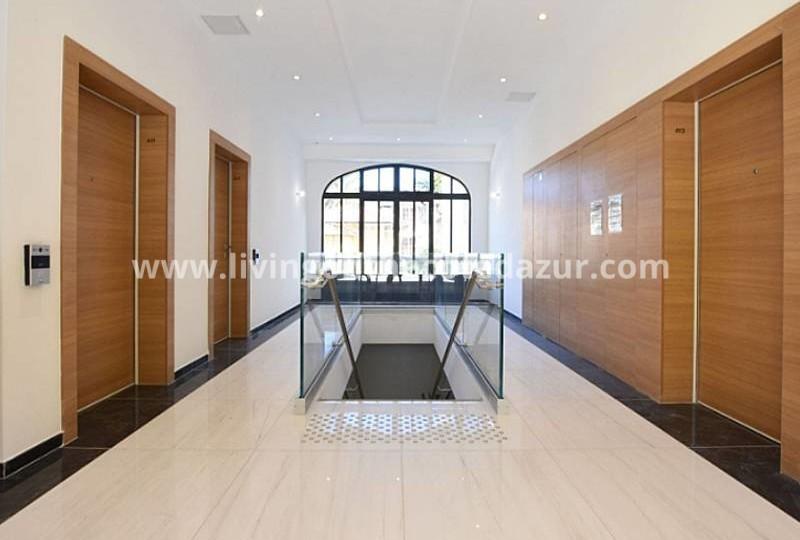 Nieuwbouw duplex appartement Beaulieu sur Mer