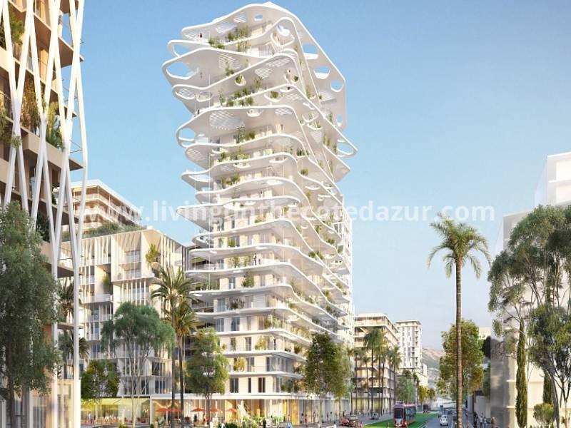 Joia Méridia futuristisch stadsproject in Nice