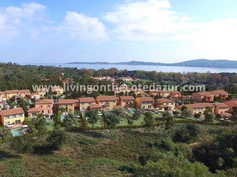 Koop een nieuwe villa met zwembad in de Golf van Saint Tropez