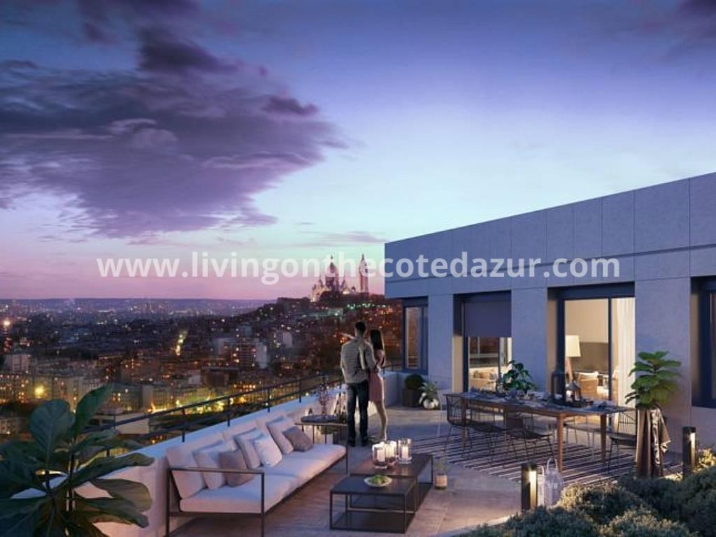 Investering: verhuur luxe suites Parijs 18e Sacré-Coeur