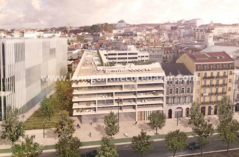 Lissabon nieuw penthouse met dakterras, zwembad en vrij uitzicht Taag